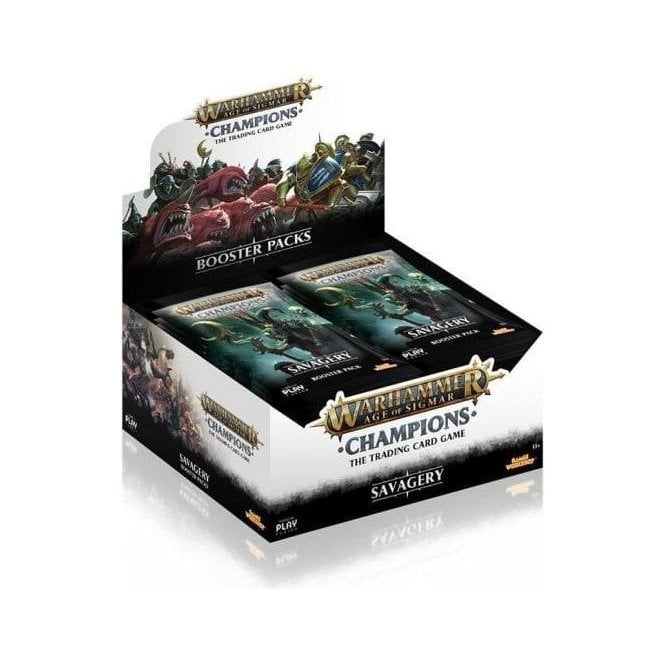 Warhammer Champions Age of Sigmar TCG Set 3: Savagery Booster