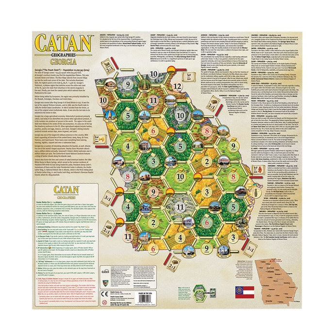 Catan: Geographies Scenario - Georgia