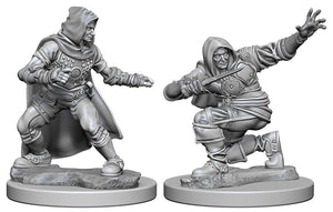 Pathfinder Deep Cuts Unpainted Miniatures: W1 Human Male Rogue