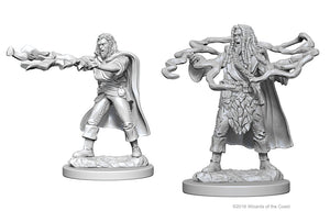 Dungeons & Dragons Nolzur`s Marvelous Unpainted Miniatures: W1 Human Male Sorcerer