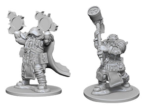 Dungeons & Dragons Nolzur`s Marvelous Unpainted Miniatures: W2 Dwarf Male Cleric