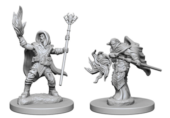 Dungeons & Dragons Nolzur`s Marvelous Unpainted Miniatures: W2 Elf Male Wizard