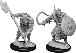 Pathfinder Deep Cuts Unpainted Miniatures: W3 Gnolls