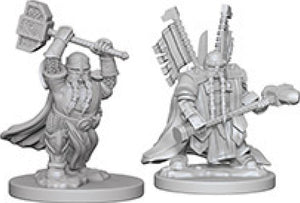 Dungeons & Dragons Nolzur`s Marvelous Unpainted Miniatures: W4 Dwarf Male Paladin
