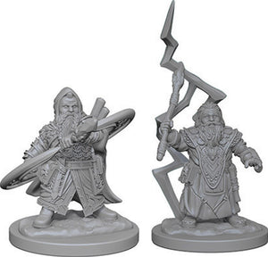 Pathfinder Deep Cuts Unpainted Miniatures: W4 Dwarf Male Sorcerer