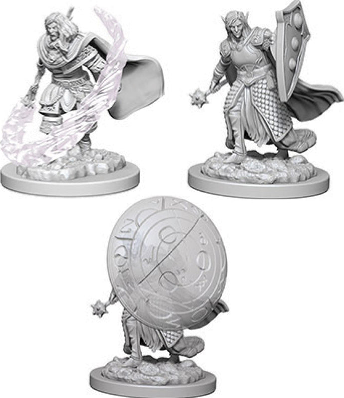 Dungeons & Dragons Nolzur`s Marvelous Unpainted Miniatures: W5 Elf Male Cleric