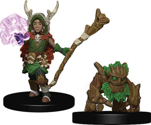 WizKids Wardlings: W2 Boy Druid & Tree Creature