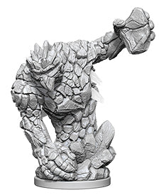 Pathfinder Deep Cuts Unpainted Miniatures: W5 Medium Earth Elemental