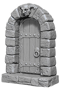 WizKids Deep Cuts Unpainted Miniatures: W5 Doors