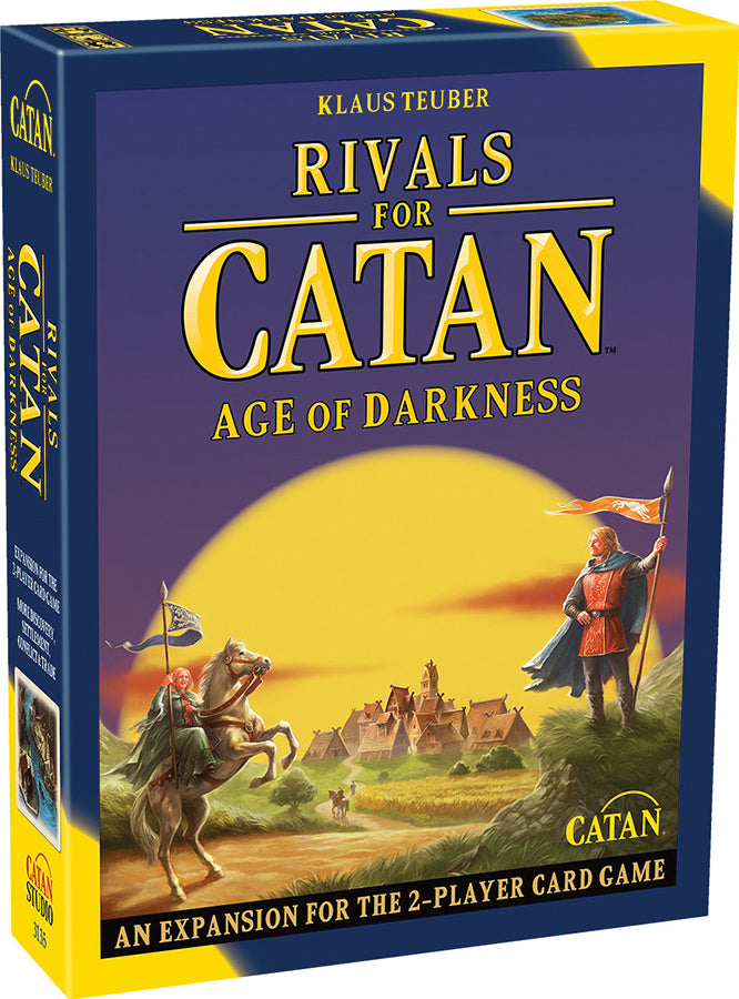 Catan: Rivals for Catan - Age of Darkness Expansion (Revised)