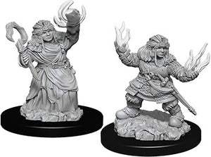 Pathfinder Deep Cuts Unpainted Miniatures: W7 Female Dwarf Summoner