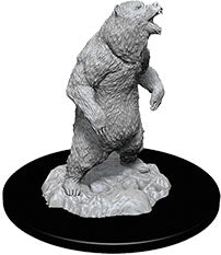 WizKids Deep Cuts Unpainted Miniatures: W7 Grizzly