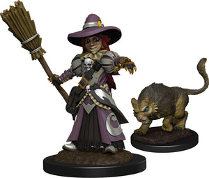 WizKids Wardlings: W3 Girl Witch & Witch`s Cat