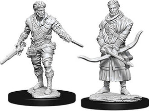 Dungeons & Dragons Nolzur`s Marvelous Unpainted Miniatures: W9 Male Human Rogue