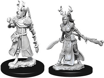 Dungeons & Dragons Nolzur`s Marvelous Unpainted Miniatures: W9 Female Human Druid
