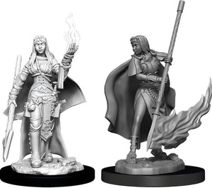 Pathfinder Deep Cuts Unpainted Miniatures: W11 Female Human Oracle (Magic User)
