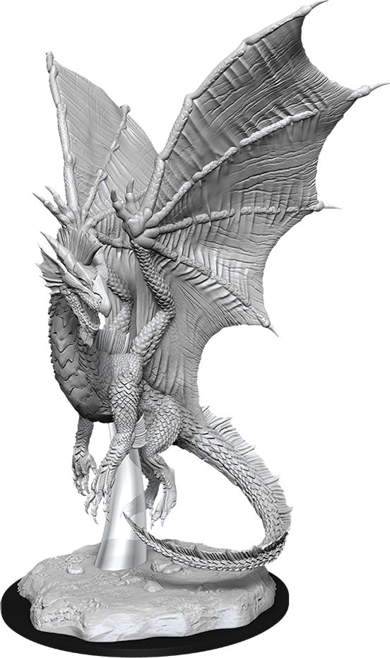 Dungeons & Dragons Nolzur`s Marvelous Unpainted Miniatures: W11 Young Silver Dragon