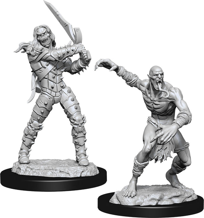 Dungeons & Dragons Nolzur`s Marvelous Unpainted Miniatures: W11 Wight & Ghast