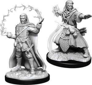 Dungeons & Dragons Nolzur`s Marvelous Unpainted Miniatures: W11 Male Human Wizard