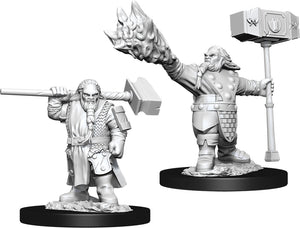 Dungeons & Dragons Nolzur`s Marvelous Unpainted Miniatures: W11 Male Dwarf Cleric
