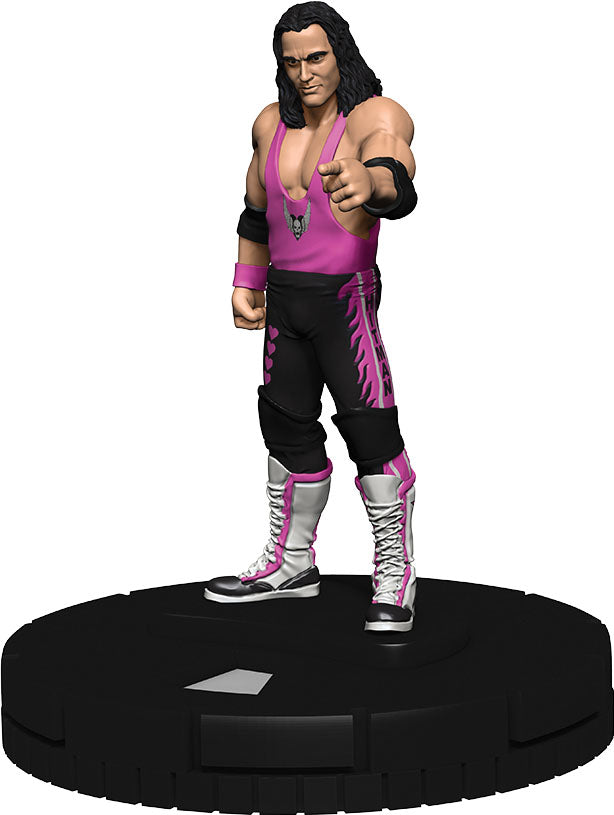 WWE HeroClix: W2 Bret `Hit Man` Hart Expansion Pack