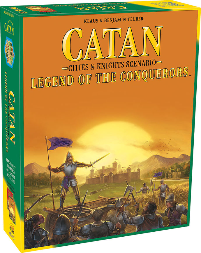 Catan: Cities and Knights - Legend of the Conquerors Scenario