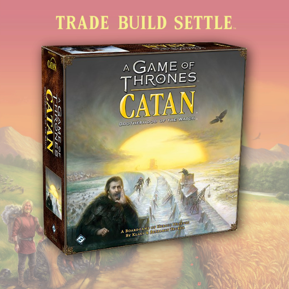 Catan: A Game Of Thrones Brotherhood of the Watch