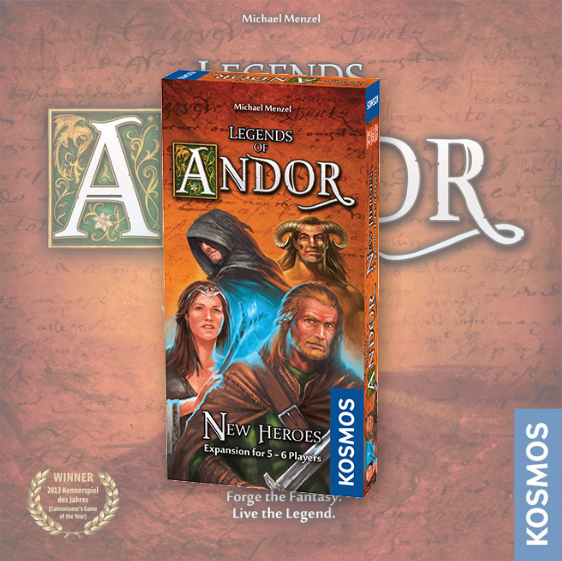 Legends of Andor: New Heroes (Andor 3)