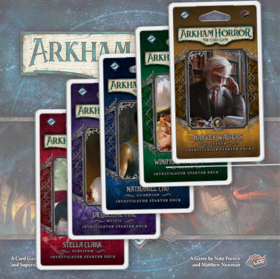 Arkham Horror Investigator Starter Deck - Set of 5 (Arkham Horror LCG)