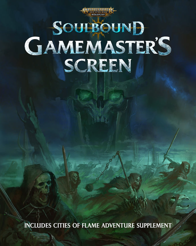 Warhammer Age of Sigmar Soulbound Gamemaster's Screen