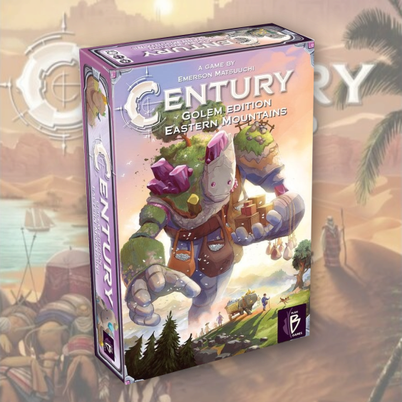 Century Eastern Mountains Golem Edition