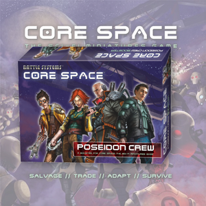 Core Space Crew Booster: Poseidon