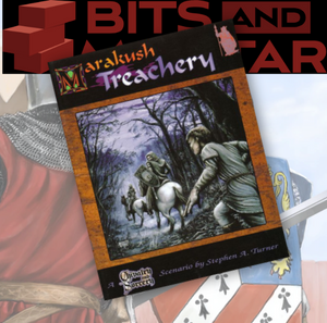 Chivalry and Sorcery RPG: Marakush - Treachery (plus free pdf)