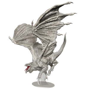 D&D Icons of the Realms Miniatures: Adult White Dragon