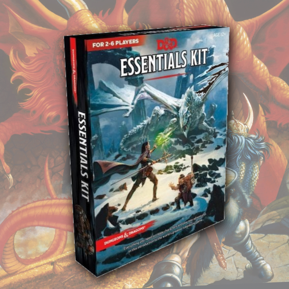 Dungeons & Dragons RPG Essentials Kit