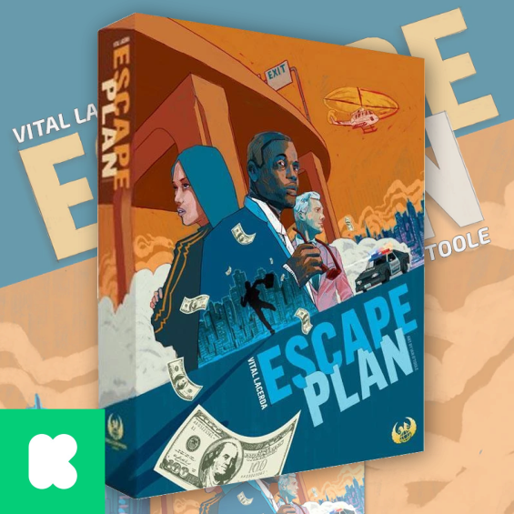 Escape Plan (KS deluxe edition)