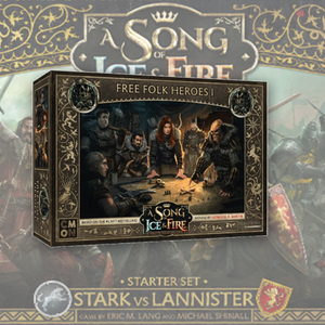 Free Folk Heroes Box 1: A Song Of Ice and Fire Exp.