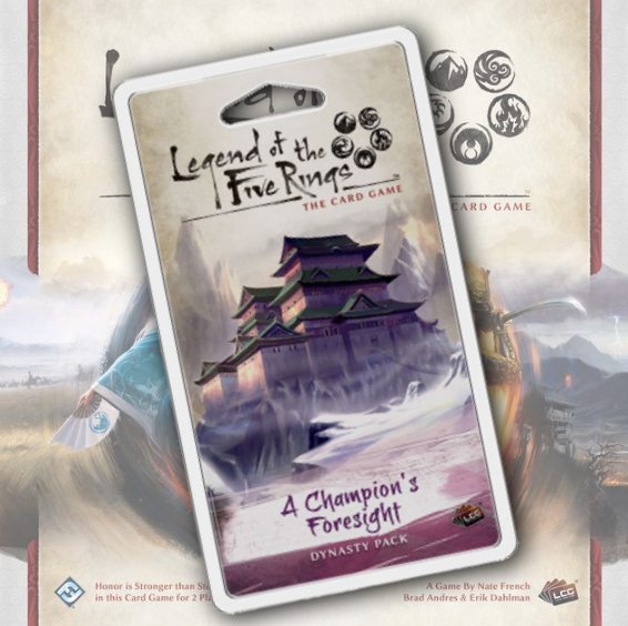 A Champion's Foresight (L5R)