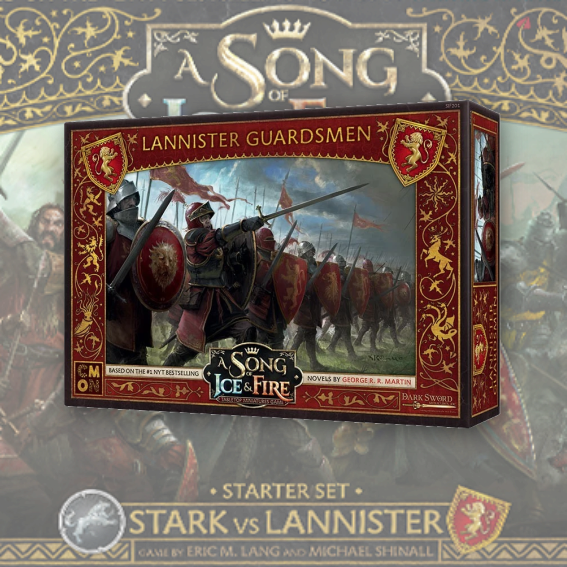 Lannister Guardsmen: A Song Of Ice and Fire Exp.
