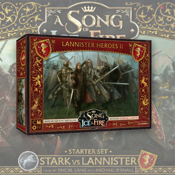 Lannister Heroes Box 2: A Song Of Ice and Fire Exp.