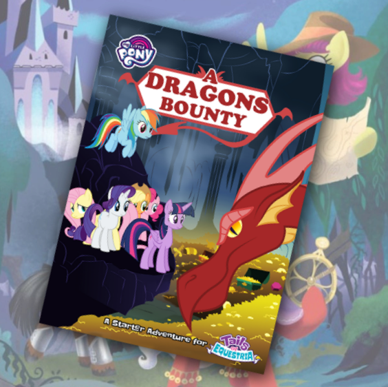 Dragons Bounty: Tails of Equestria MLP Starter Box