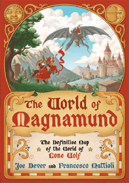 The World Of Magnamund Map