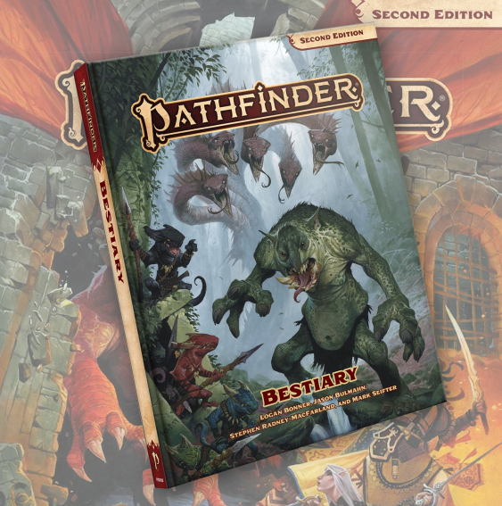 Bestiary (Pathfinder RPG Second Edition)