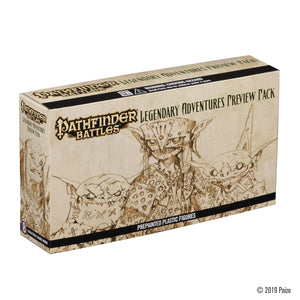 Pathfinder Battles: Legendary Adventures Preview Pack