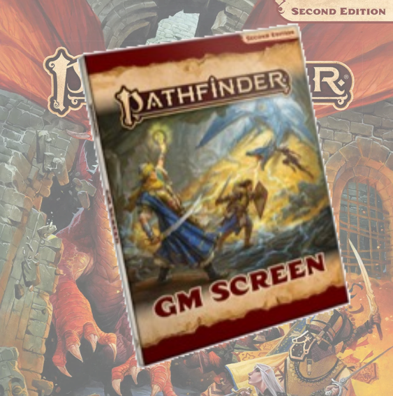 Pathfinder GM Screen (Pathfinder RPG Second Edition)