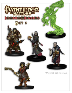 Pathfinder Battles: Iconic Heroes Box Set VII