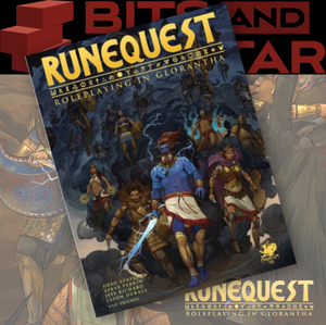RuneQuest: Roleplaying in Glorantha Core Rulebook