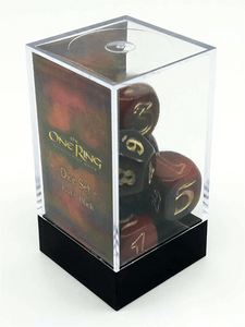 Dice Set Red and Black