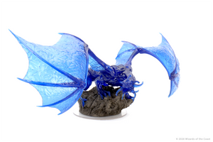 D&D Icons of the Realms Miniatures: Sapphire Dragon Premium Figure