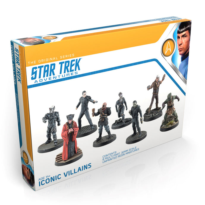Star Trek Adventures Miniatures: Iconic Villains Box set